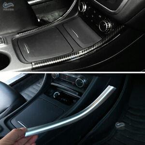 Carbon Fiber Center Console Strips for Mercedes Benz A B CLA GLA Class W176 X156