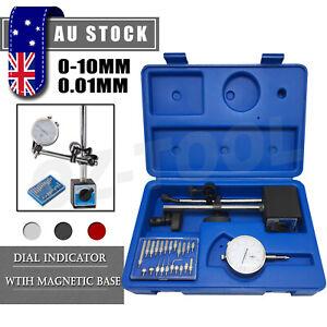 Professional Dial Indicator Gauge ( Magnetic Base & 22pcs Indicator Point Set )