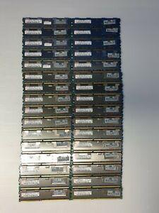 HP 500203-061 4GB PC3-10600 DDR3 1333MHz Server RAM Memory Lot of 32