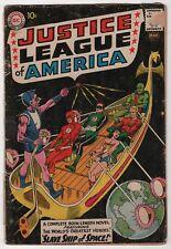 Justice League of America 3 origin 1st appearance Kanjar Ro 1961 DC create-a-lot