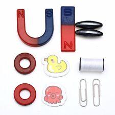 8PCS netter U geformter Hufeisen Magnet Installationssatz verwendbar für Kinder