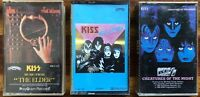 kiss cassette lot - Music From The Elder, Killers, and Creatures of the Night