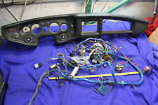 MG MGB 1976 Original Dashboard Assembly and Gauges Wiring