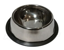 Stainless Steel, Non-Slip, Dog and Cat, Feeding Bowl/Water Dish (18cm)