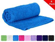 Premium Hand Towel, Large 16 x 30, 100% Turkish Cotton, Set Of 6