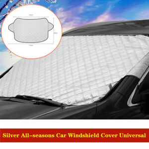 Car Auto Sun Shade Windshield Visor Cover Protector Winter Snow Dust Frost Guard