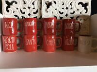 Rae Dunn by Magenta Christmas Mugs *YOU CHOOSE* FREE SHIPPING!!