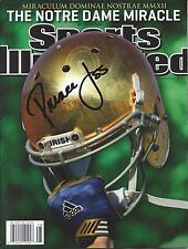 Notre Dame Fighting Irish PRINCE SHEMBO Signed Sports Illustrated