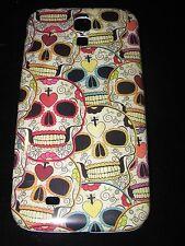 Sugar Skull Hard Cover Case for Samsung S4 IV Dia de los Muertos Multiple Skulls