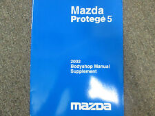 2002 Mazda Protege 5 Protege5 Bodyshop Supplement Manual FACTORY OEM BOOK 02