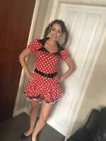 minnie mouse adult fancy dress