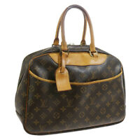 LOUIS VUITTON DEAUVILLE BUSINESS HAND BAG PURSE MONOGRAM CANVAS M47270 33830