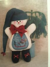 "River Town Warehouse Always Play Snowman Kit R-329 Makes 19"" Felt Snowman Doll"