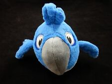 "Angry Birds Rio -  Blue 6"" Bird Plush Stuffed Animal"