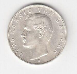 Bayern  3 Mark  1910   vz