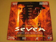 LASERDISC VERSION FRANCAISE / SEVEN ( BRAD PITT, MORGAN FREEMAN )
