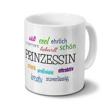 Tasse mit Namen Prinzessin - Positive Eigenschaften