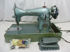 Vintage Eau Claire Sewing Machine Precision Deluxe Japan Turquoise RARE singer