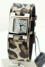 D&G time Leopard 3719250135 reloj watch fashion steel