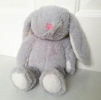 Next Grey Bunny Rabbit Soft Toy Plush Comforter
