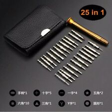 25 in 1 Screwdriver Set Repair Tool for PC Watch Camera phone Laptop glasses Kit