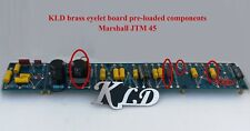 Brass eyelet board fixed quality components Marshall JTM 45 tremolo DIY amp kits