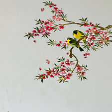 Removable Beautiful Flower Tree Birds Wall Sticker Vinyl Home Decor Decals