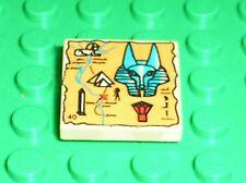 LEGO Egypte Tan Tile with Hieroglyphs ref 3068bpx19 / Set 5948 5918 5909 5978.