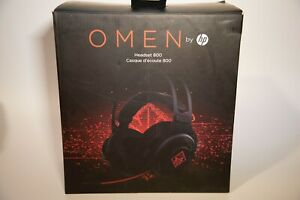 HP OMEN Wired Gaming Headset 800 - Black & Red