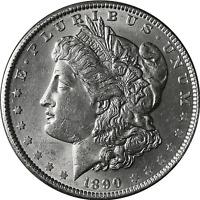 1890-S Morgan Silver Dollar Brilliant Uncirculated - BU
