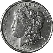 1890-S Morgan Silver Dollar BU