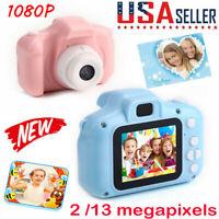"Kids Children 1080P Digital Camera 2.0"" LCD HD Mini Camera Xmas Gift for Kids"