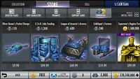 Injustice Gods Among Us Android and iOS 5000 Nth Metal