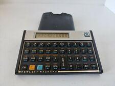 Hewlett Packard HP Voyager 11C Vintage Scientific Calculator with Pouch READ PLZ