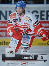 009 Gabe Gauthier Augsburger Panther DEL 2011-12