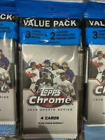 2020 Topps Update Chrome Value Pack w/ Exclusive Pink *Free Ship!*