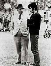 RARE OFF CAMERA STILL ELVIS WITH COL. PARKER
