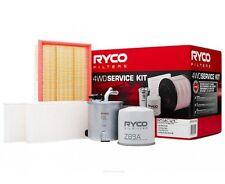 RYCO Oil Air Fuel Cabin Filter Service Kits NISSAN NAVARA D40 Spanish Built