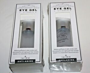 Calily Life Hyaluronic Acid Eye Gel + Vitamin E Ant i- Aging Lot Of 2 in Box