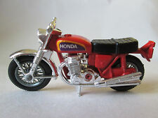 1974 Matchbox Hondarora Honda Motorcycle #18 England Chrome Forks & Handle Bars