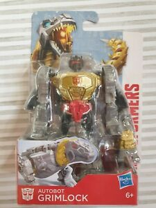 "Transformers Autobot Grimlock 8 Steps Brand New In Box. 4.5""  Gift Present"