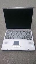 GERICOM OVERDOSE T1130 Gehäuse Display Mainboard Motherboard Bastler Windows XP