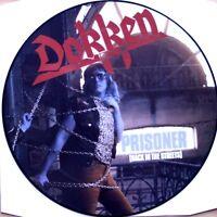 EX/EX DOKKEN BACK IN THE STREETS VINYL LP PICTURE PIC DISC
