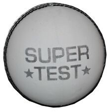 White Leather Super Test Cricket Match Ball (Pack of 6)