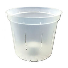"""5"""" Crystal Clear Slotted Orchid Pot - 3 Pack"""
