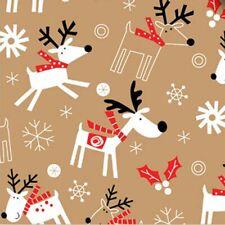 240 Sheets - Whimsical Reindeer & Snowflakes # 713 - Bulk Pricing*