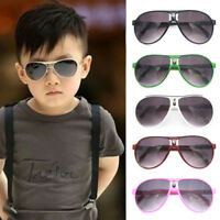 Kids ANTI-UV Sunglasses Child Boys Girls Shades Baby Goggles Glasses Chic TR