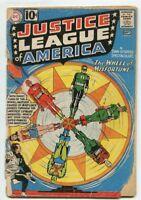 JUSTICE LEAGUE OF AMERICA #6  Origin & 1st app Prof. Amos Fortune 1960 JLA DC