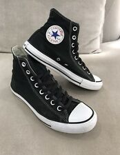 Converse All Star Chuck Taylor High Tops Size 7 Mens Womens 9 Black Shoes