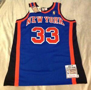 NWT Mitchell& Ness NY Knicks Patrick Ewing Jersey size L(44) 1996-97
